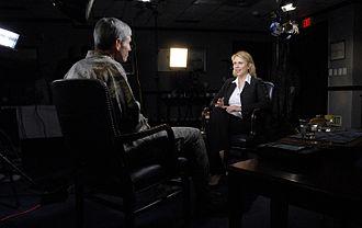Lara Logan - Logan interviewing General Norton A. Schwartz, April 2009