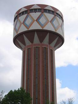 Gentbrugge watertower