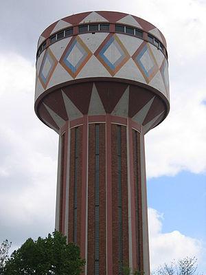 Gentbrugge - Gentbrugge watertower