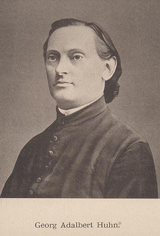 Bad Orb - Georg Adalbert Huhn in 1880