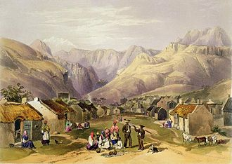 Genadendal - Genadendal Mission Station (c. 1849) by George French Angas