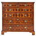 George III Oyster Burl Yew wood Chest Of Drawers 03.jpg