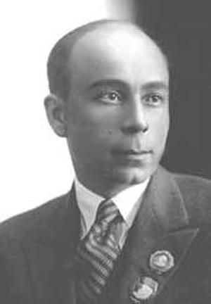 Georgy Ushakov - Georgy Ushakov before World War II