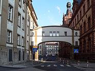 Gerichtsstraße in Frankfurt am Main