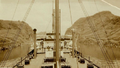 German tanker Vistula front of the Culebra Cut, Panama 1931.png