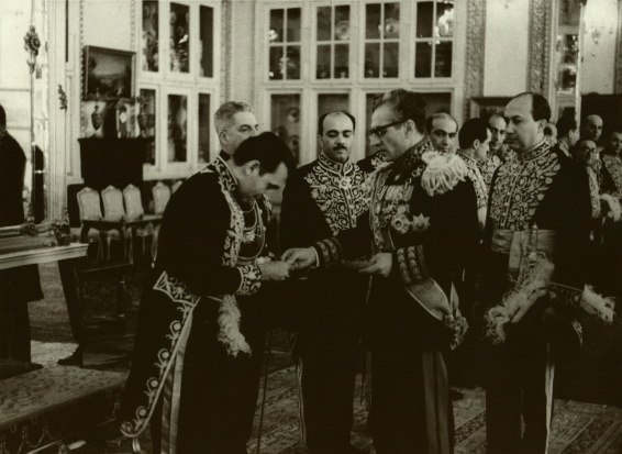 Ghassem Rezai With Shah