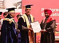 Ghulam Nabi Azad presenting degrees to the students, at the 33rd Convocation of the Post Graduate Institute of Medical Sciences and Research (PGIMER), in Chandigarh. The Director, PGI Chandigarh.jpg
