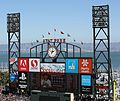 Giant scoreboard at AT&T Park (TK3).JPG