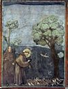Giotto di Bondone - Legend of St Francis - 15. Sermon to the Birds - WGA09139.jpg