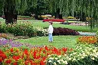 Girl in the Margit-sziget Garden (5978988972).jpg