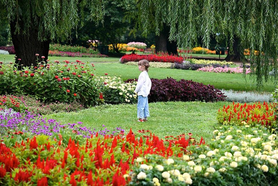 Girl in the Margit-sziget Garden (5978988972)