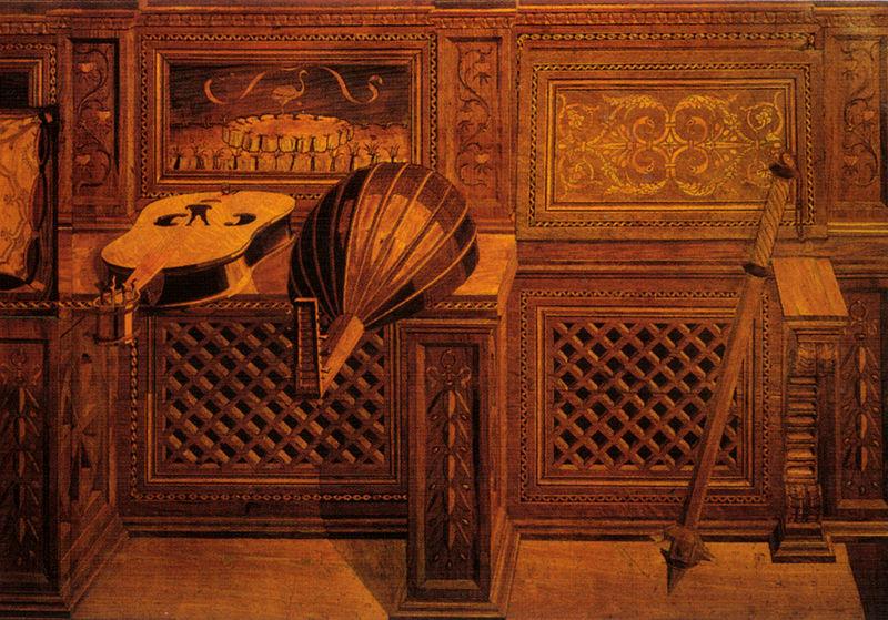 File:Giuliano, benedetto da maiano e bottega, tarsie dello studiolo di federico II 02.jpg
