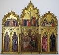 Giuliano da rimini, incoronazione della vergine e santi, 1320 circa, 01.JPG