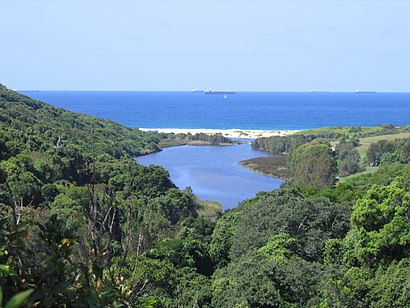 How to get to Glenrock Lagoon with public transport- About the place
