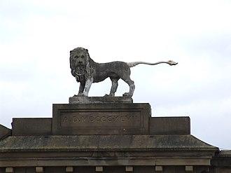 Glossop - Norfolks' Lion