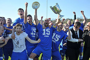 North West Counties Football League - Glossop North End NWCFL Champions 2015