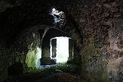 Gościszów Ruiny zamku ksiazecego pomieszczenia w przyziemiu 05.JPG