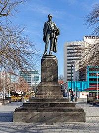 Godley Statue, Christchurch, New Zealand.jpg