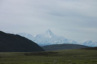 Mount Gongga - Gongga viewed from the west.