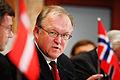 Goran Persson, statsminister i Sverige, under presskonferens vid Nordiska radets session i Stockholm.jpg
