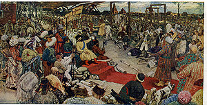 Pugachev's Rebellion - Pugachev in Kazan