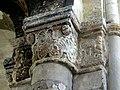 Gournay-en-Bray (76), collégiale St-Hildevert, chœur, 3e grande arcade du sud, chapiteau côté ouest 3.jpg