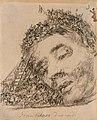 Goya - Great Colossus Asleep, Between 1824 and 1828.jpg