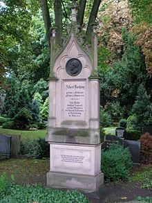 Grabmal auf dem II. Sophien-Friedhof in Berlin (Quelle: Wikimedia)