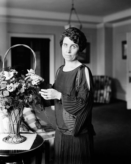 Grace Coolidge.