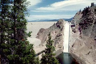 Granby Dam - Image: Granby Dam Bu Rec CO1
