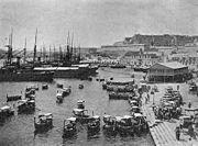 Grand Harbour Malta circ1890