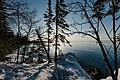 Grand Marais Lake Park Sunrise, Minnesota (25918385337).jpg