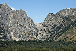Death Canyon canyon located in Grand Teton National Park