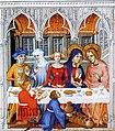 Grandes heures de Jean de Berry (1409) - Les Noces de Cana (cropped).jpg
