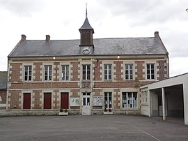 The town hall of Grandlup-et-Fay