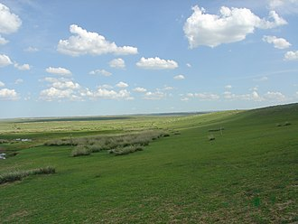 Inner Mongolia - Grasslands in the region