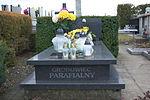 Grave of Antoni Szypuła at Dąbrówka Cemetery in Sanok 2.jpg
