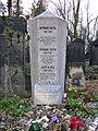 Grave of Franz Kafka in the New Jewish Cementery, Prague.jpg