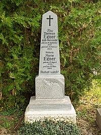 Grave of Marie Egner, Vienna, 2020.jpg