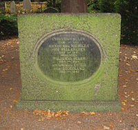 Grave of christian and waldemar bülow in lund sweden.jpg