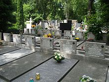Graves of Polish Scouts – Łudź Old Cemetery.JPG