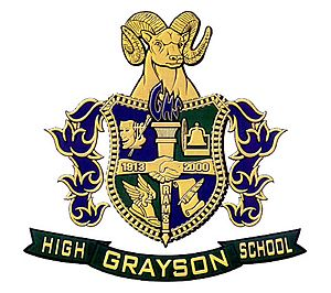 Grayson High School - Image: Grayson High School coat of arms