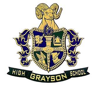 Grayson High School - Image: Grayson High School coat of arms