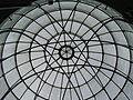 Grazer Synagoge - Glaskuppel Innenansicht.JPG
