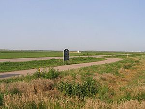 Great Platte River Road - U.S. 26 along the Platte River Valley in central Nebraska follows the historic transcontinental trails