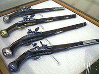 Greek revolution pistols