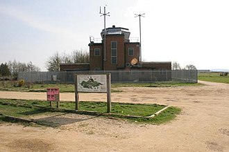 RAF Greenham Common - The Control Tower before refurbishment