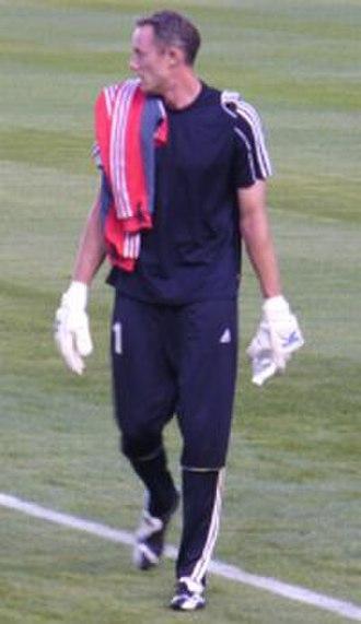 Greg Sutton (soccer) - Sutton in 2007