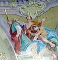 Groß-Siegharts Pfarrkirche - Fresko 4b Apostel.jpg
