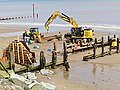 Groyne replacement, Withernsea (geograph 5513285).jpg